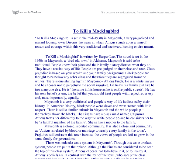 critical essay of to kill a mockingbird To kill a mockingbird essays - critical analysis of harper lee's to kill a mockingbird.