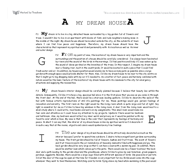 Essay on dreams