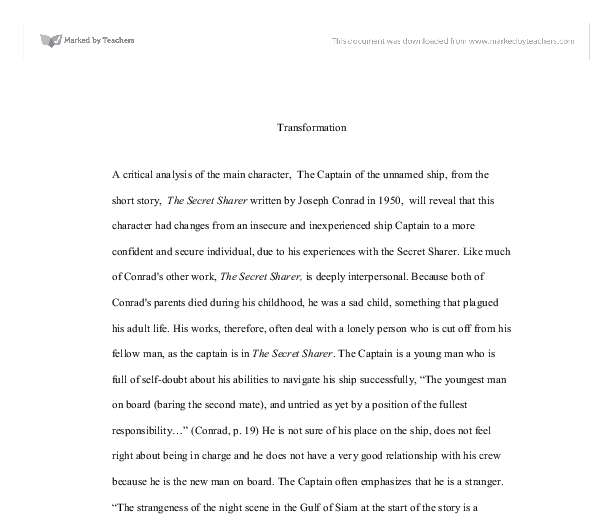 P Lang Student Sample Essays