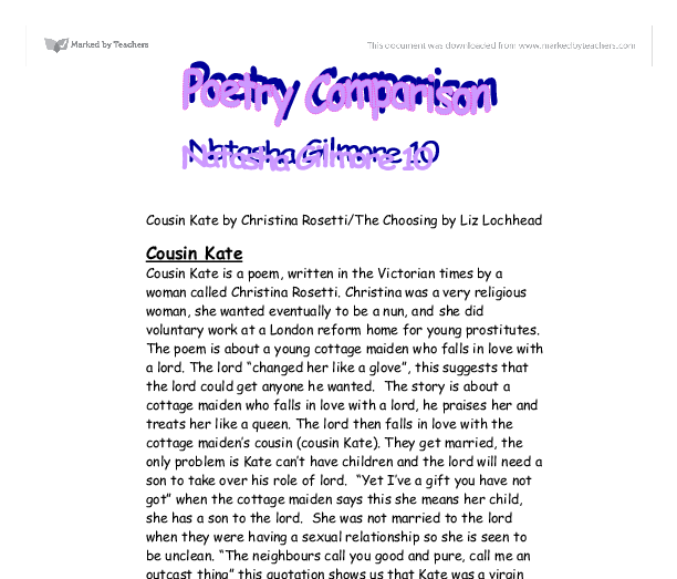 liz lochhead essay Poem for my sister liz lochhead analysis poem for my sister liz lochhead analysis  answer a discuss essay question garudayana vol 2 is yuniarto solution manager.