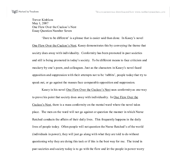 College Essay Examples English : Dare Essay Examples, Spanish ...