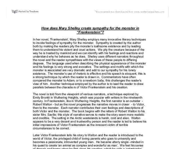 frankenstein essay introduction  mistyhamel frankenstein essay introduction topics on