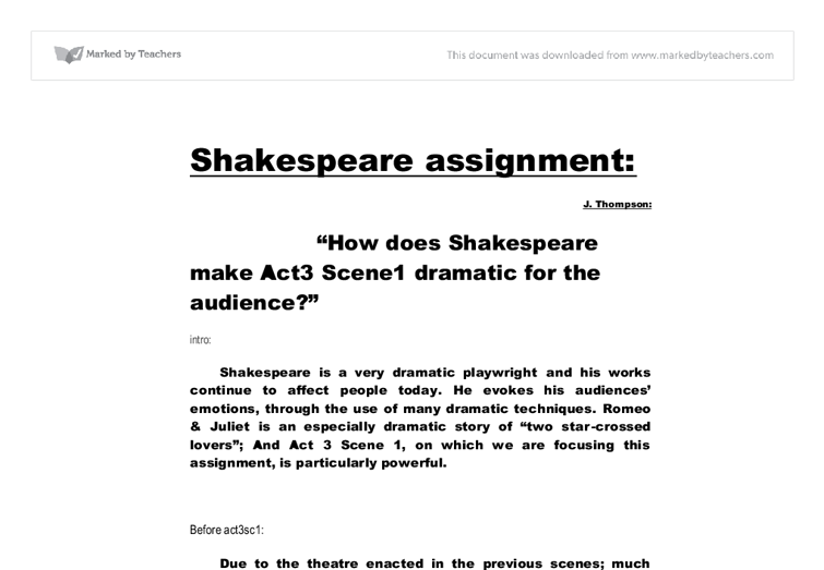what impression does shakespeare give of the plebeians in act iii Shakespeare portrays the plebeians as easily manipulated and inclined toward which would give power to these julius caesar act iii study questions.