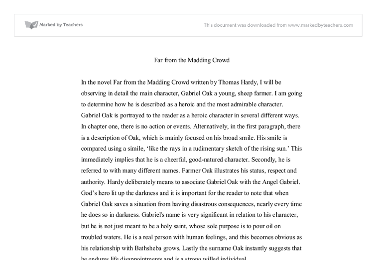 far from the madding crowd 5 essay The latest tweets from madding crowd (@furtherfrom) far from the madding crowd  we're here til 530 for all your bookish needspictwittercom/2tqqlphsdj.