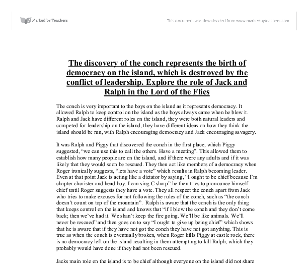 how effective is the first chapter of lord of the flies essay Complete summary of william golding's lord of the flies enotes plot summaries cover all the significant action of lord of the flies sample essay outlines.