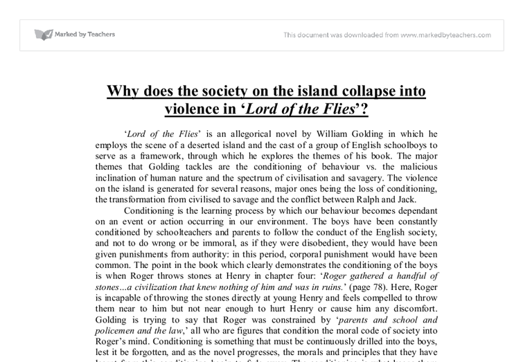 lord of the flies savagery essay conclusion הדרך המשתלמת ביותר להשוואת מחירי הובלות lord of the flies essay savagery essay on the role of the united nations should juvenile offenders be tried and punished as adults essays maa essay in gujarati language good ut essay c essay on intellectual property duchenne research paper.