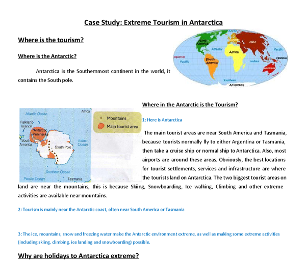 Tourism in Antarctica - Geography Case Study - YouTube