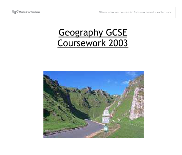 Geography Coursework
