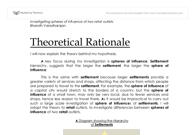 purpose and rationale thesis The structure, format, content, and style of a journal-style scientific paper | table of contents | faqs | context, finally arriving at your statement of purpose and rationale a good.