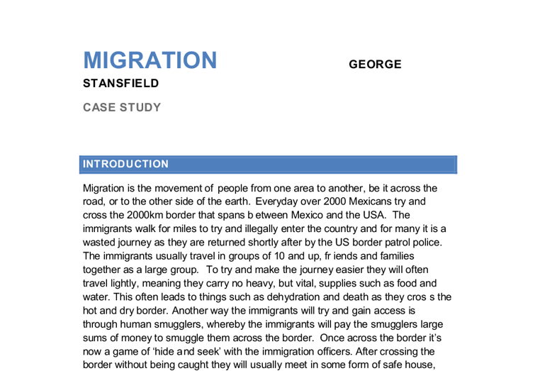 essay on immigration in america Immigration essay papers the united states of america: for many immigration to the united states would be.