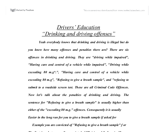 drinking and driving offenses What fate awaits those arrested for drunk driving you may be surprised to find that penalties, even a first offense, have been increased drastically.