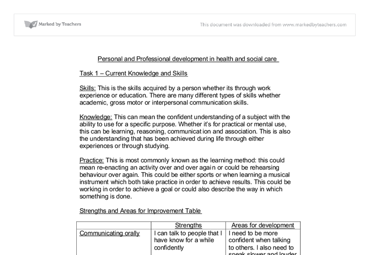 personal professional development 2 essay 2 continuing personal and professional development continuing personal and professional development at this document is intended to provide staff at ucl.