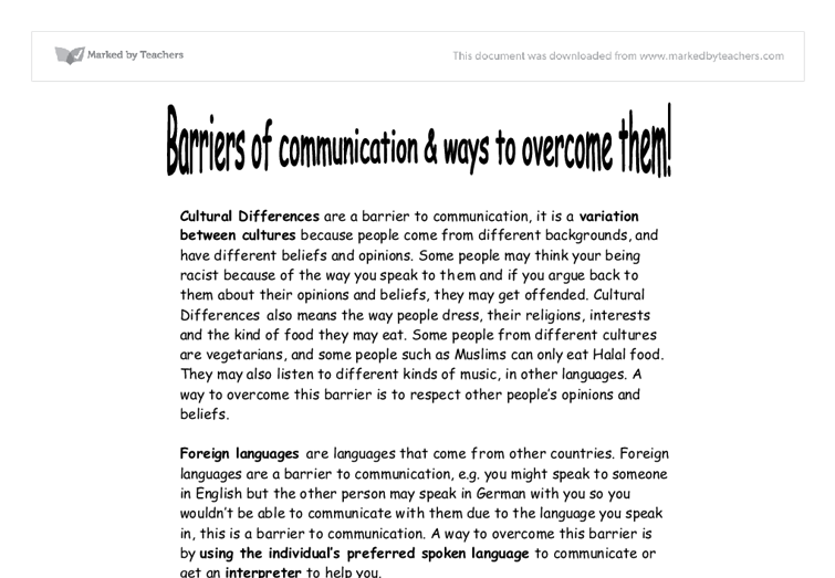 communication and language needs wishes essay Free essay: eymp 5 support children's speech, language and communication 11) explain each of the terms: speech - the act of speaking, verbal.