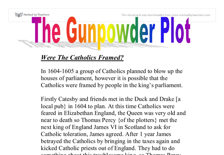 Essay Writing: Was Guy Fawkes Guilty Or Framed Essay we