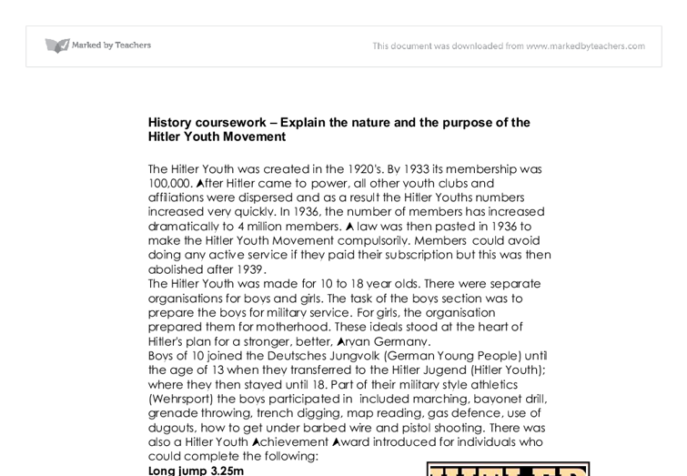 history hitler essay Hitler also led the nsdap (often called the nazi party), the democratically  elected party which ruled  during world war ii, hitler was the commander-in- chief of the german forces and made all the important decisions  the history  place.
