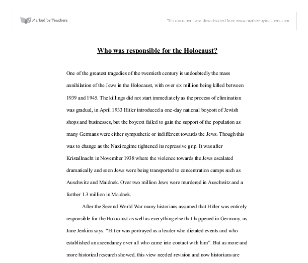 Introduction for a research paper on the holocaust timeline America s Black Holocaust Museum the holocaust research paper