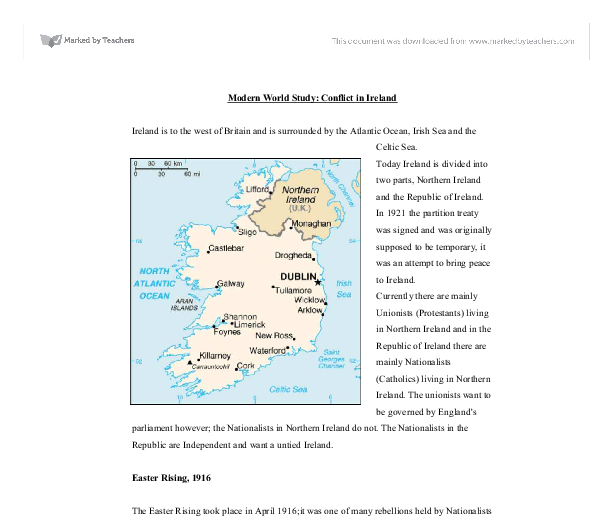 Northern ireland essays