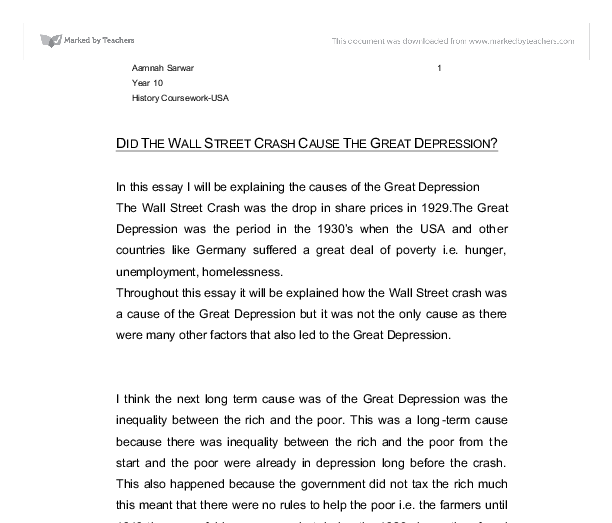 the great depression essay co the great depression essay