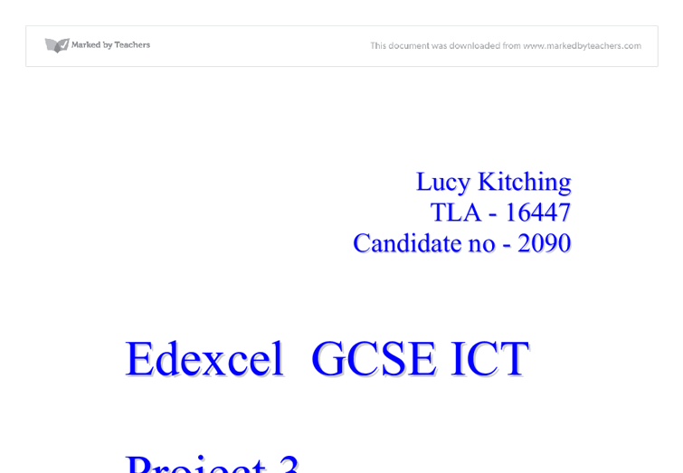 ict coursework 2 If you are studying a different igcse ict syllabus, or a uk gcse ict syllabus, don't go away the pages of this site are organised for the cie 0417 igcse ict syllabus, but much of the content will still be relevant to you.