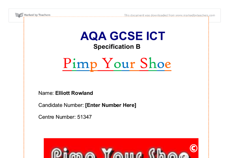 gcse ict coursework testing Gcse ict coursework (aqa) watch announcements  i started my gcse ict course about a month ago after finishing my long project, i have another one to do but the deadline has passed.