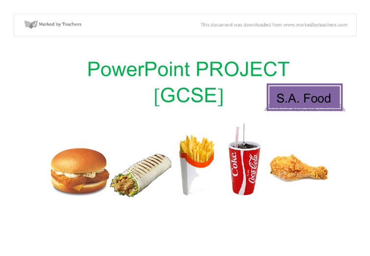 Gcse coursework help ict powerpoint