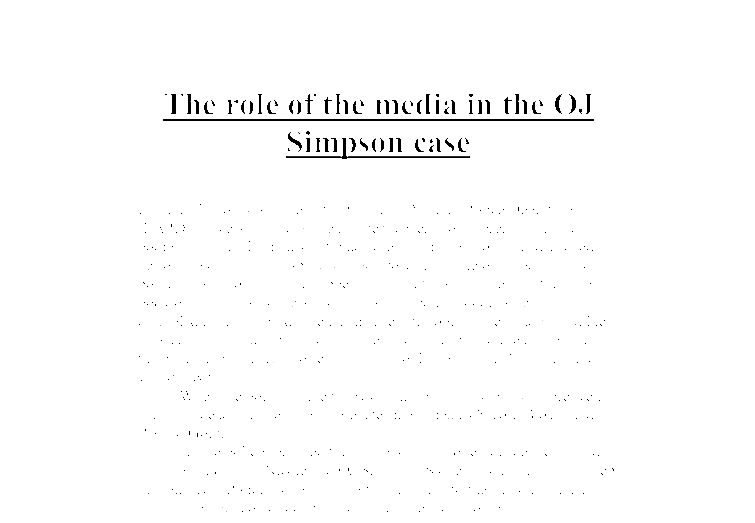 Free essay on role of electronic media