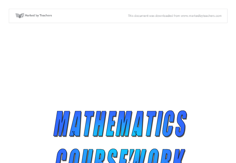 gcse coursework maths Coursework in gcse maths [bujewicz] on amazoncom free shipping on qualifying offers.