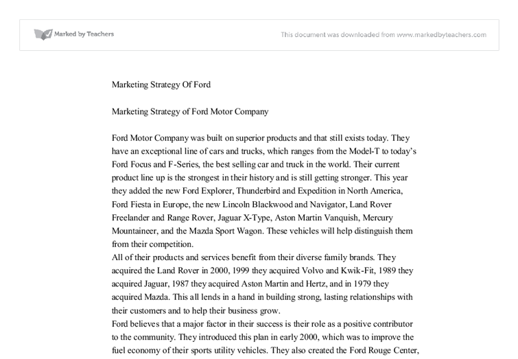 marketing strategies essays Business: marketing strategy essay principles of marketing september 2, 2012 abstract in this paper i will define segmentation and discuss its uses for my.