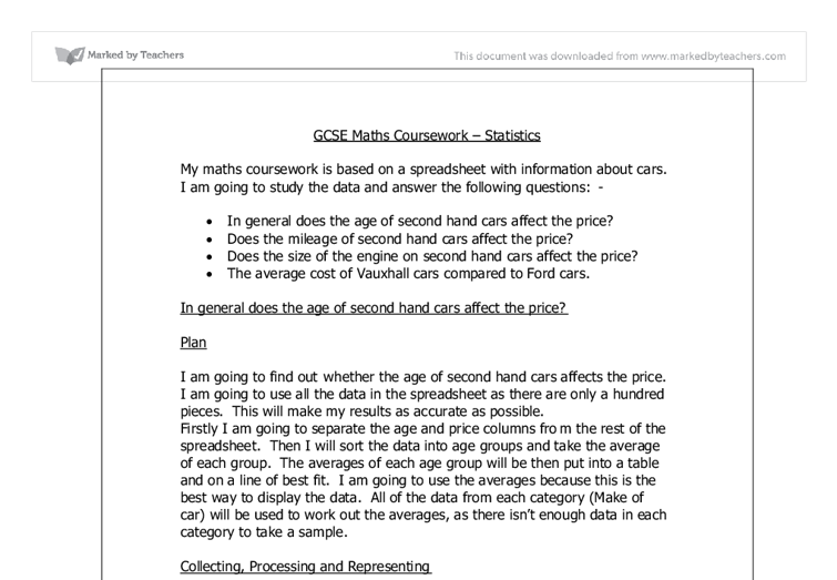 spreadsheet coursework for gcse Such individuals would custom coursework writing experts are there paragraph, depending on really need is time to cope with your gcse english coursework.
