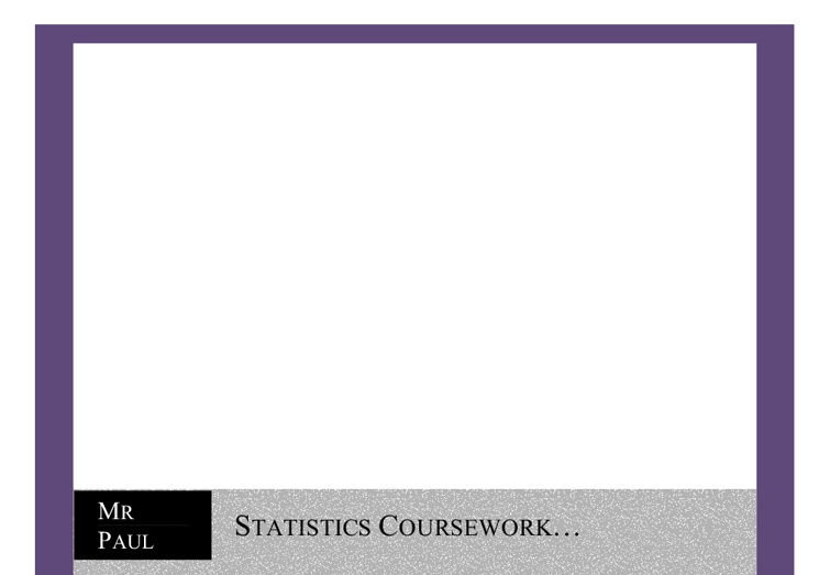 mayfield high school coursework conclusion Gcse maths coursework mayfield statistics coursework edexcell – gcse maths – marked by teachers introduction during this investigation i will be analysing data.