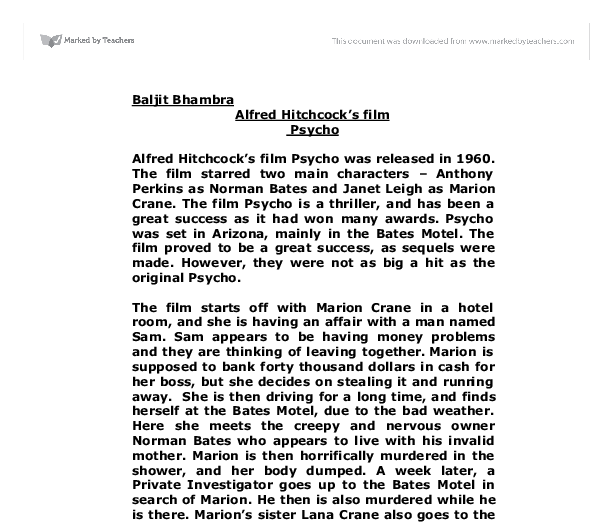 classification essays movies