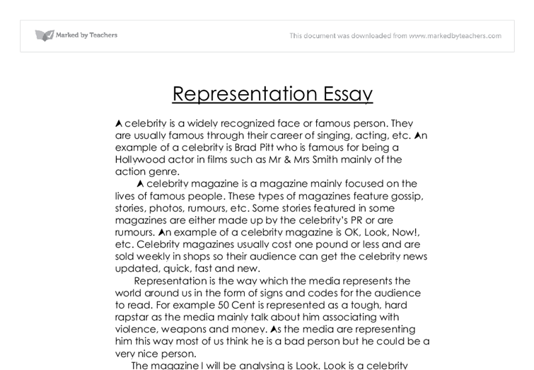 compare the representation essay The representations of gender in horror films- essay the representations of gender in horror films- essay the representation of women in horror movies.