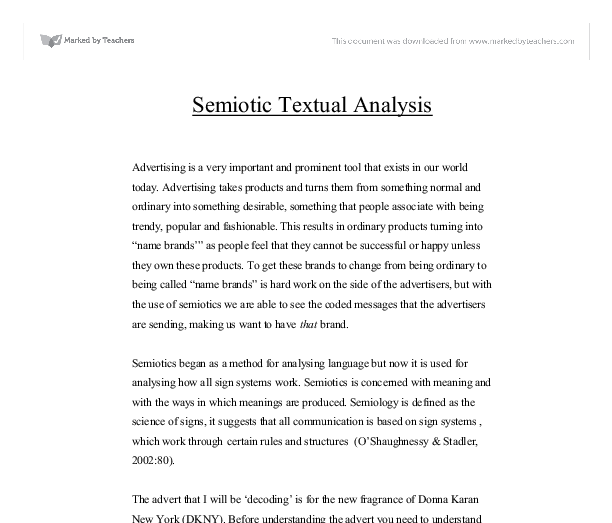 essay questions on semiotics