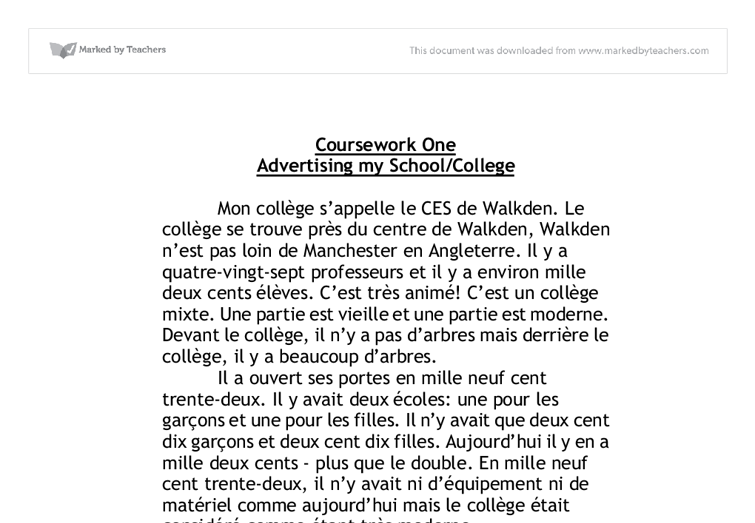 essay on school in french School life in french essay the student room learn how to write a description about your school or college with bbc bitesize gcse french mon college sappelle x il.
