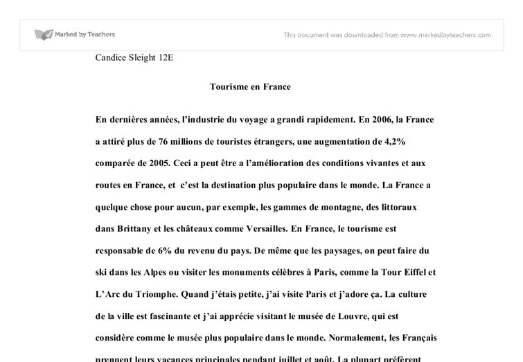 essays on france France essaysthere are many countries in the world, but non-like france france is one of the most interesting countries in the world because of their history, creative arts, and even their.