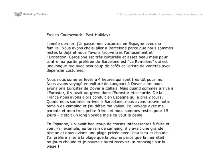 Edu Thesis & Essay: Edexcel french gcse coursework assignments to professionals!