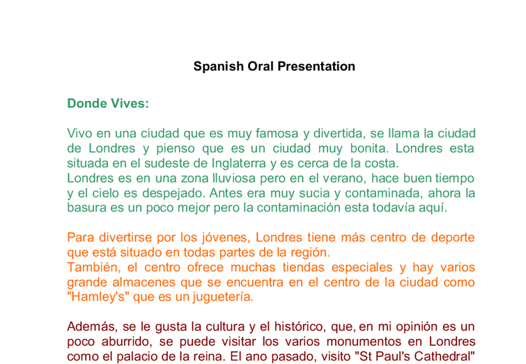 spanish essay for beginners The essay is one of the sections of the exam that seems to make students apprehensive so as well as a few more tips, i've compiled the sample essays that are on this blog and the various posts i've written with suggestions for handling this section of the exam sample essays: sample essay by elyse.