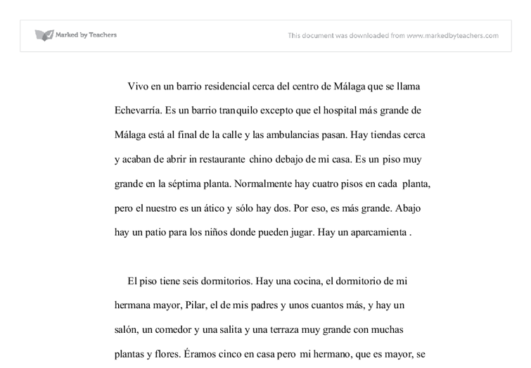 Heroes Essay Essay On My Daily Routine In Spanish Help Writing Spanish Essays Essay On  My Daily Routine Memorable Experience Essay also Fiction Essay Examples Essay In Spanish Essay On My Daily Routine In Spanish Help Writing  How To Write A College Narrative Essay