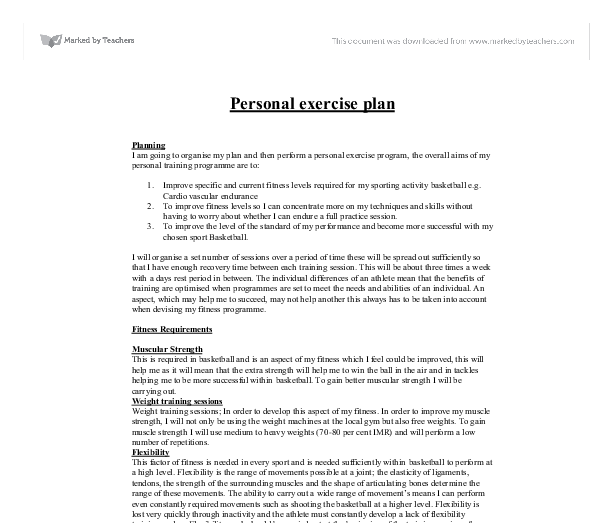 physical education personal training volleyball essay Volleyball unit plan the student will demonstrate responsible personal and social behavior in physical each player will correctly serve a volleyball with.