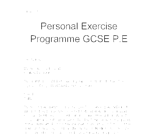 personal exercise program essay A qualified personal statement help at an affordable price need to write a strong personal statement for college it's your only chance to show who you are and why you deserve to be a part of the chosen educational institution.