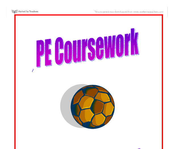 pe coursework ocr