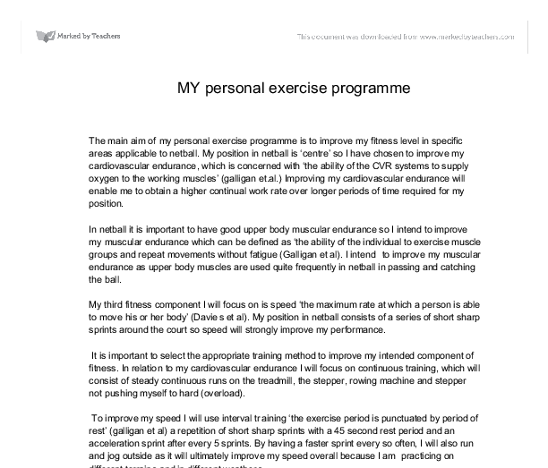 strength and conditioning programme physical education essay Identifying, understanding and training youth physical size, strength have been packaged into the twist sport conditioning coach education program.
