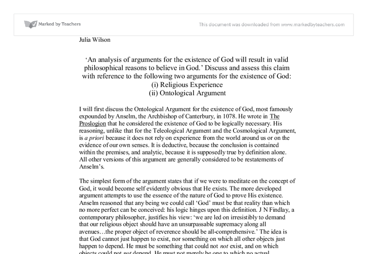 belief in god essay i believe in god essay