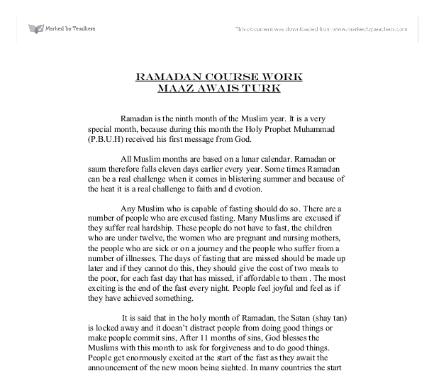Essay About Healthy Lifestyle Document Image Preview Sample Essay English also Interesting Persuasive Essay Topics For High School Students Ramadan Is The Ninth Month Of The Muslim Year  It Is A Very Special  Custom Essay Papers