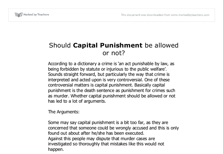 capital punishment essay christian opposition Catholicism and capital punishment the mounting opposition to the death penalty in europe supporters of capital punishment were the christian.
