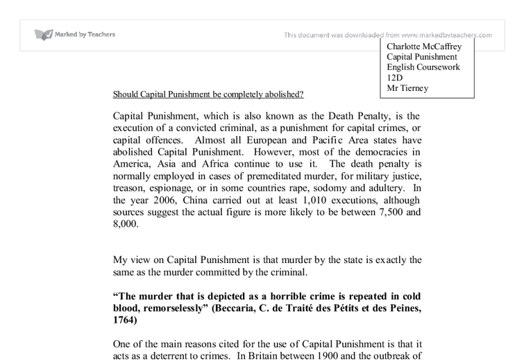 media viloence and capital punishment essay Read this essay on speech on capital punishment  death penalty or capital punishment is not only is an act of violence  i believe that the influence of media.