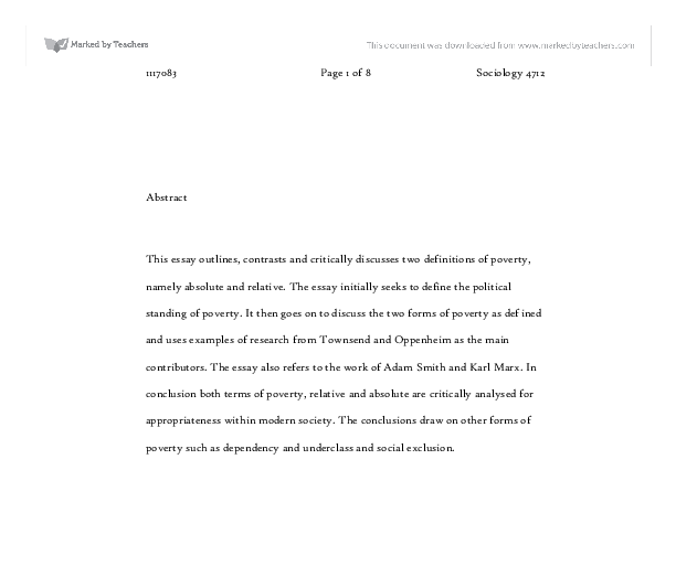 this essay outlines contrasts and critically discusses two  document image preview