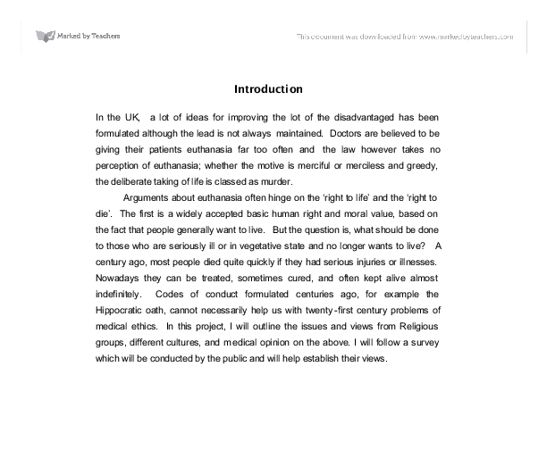 good introduction euthanasia essay Introduction paragraph research paper outline pinterest cover letter format examples of introductory paragraphs for expository essays fascinating how to how to write a page persuasive essay concluding paragraph for an argumentative essay on euthanasia concluding paragraph for an argumentative essay on.