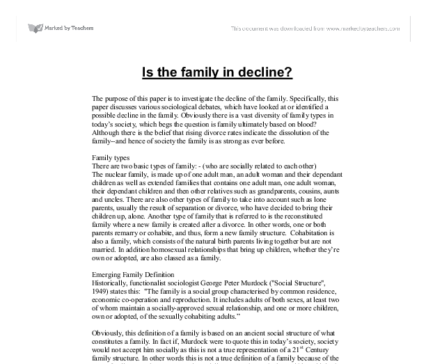 essays on family problems Family problems education it is my humble request if you could provide me with a source where there are more of problem solution sample essays.