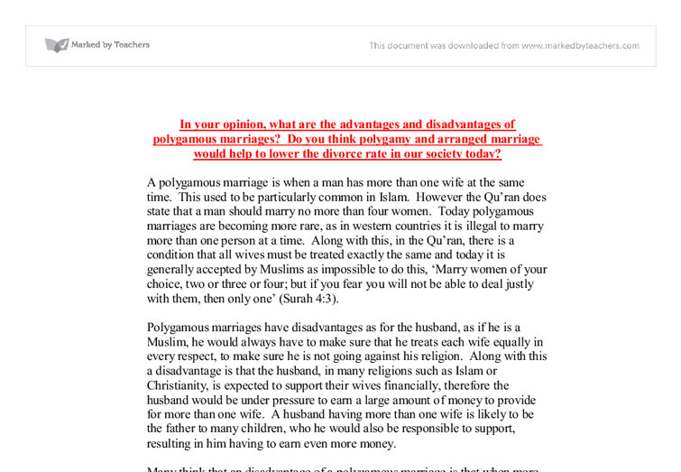 marriage and divorce persuasive essay